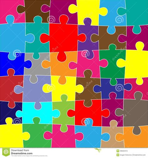 how many different colors are used to achieve lisa rinnas hair red puzzle background stock photos image 33642413