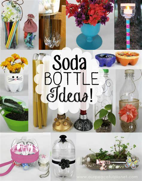 soda bottle crafts for plastic bottle crafts