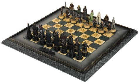 Chess Sets Amazon bring the war of the ring home with the lord of the rings