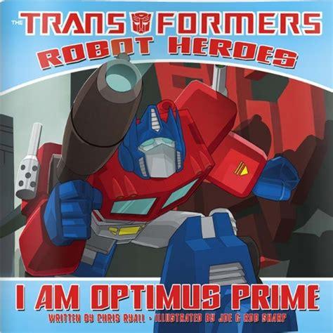 Am optimus prime childrens book idw review transformers news