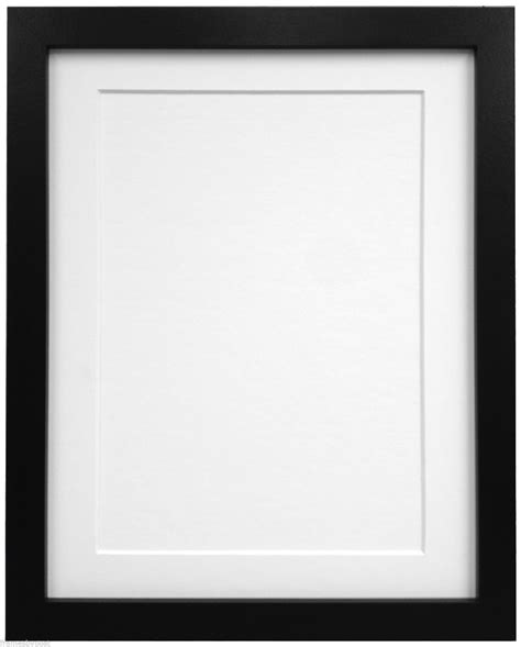 photo frames black or white photo picture frames with quality black white or ivory mounts ebay