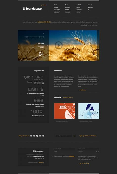 30 Dynamic Php Website Themes Templates Free Premium Templates Custom Website Templates