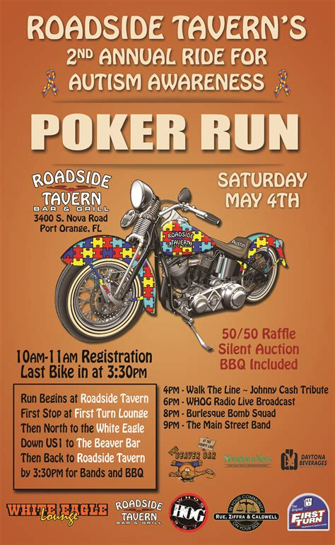 Motorcycle Poster Autism Poker Run Posters Pinterest Motorcycle Posters Fundraising Ideas Free Motorcycle Ride Flyer Template