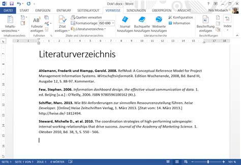 Word Vorlage Für Wissenschaftliche Arbeiten Literaturrecherche F 252 R Microsoft Word