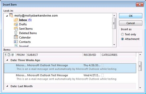 message to outlook 2013 forward email messages as attachments