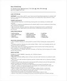 cover letter for custodian for school free resume for custodians