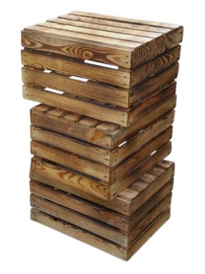 Obstkisten Aus Holz by Obstkisten Weinkisten Und Holzkisten Aus Holz Geflammt