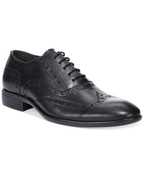 guess ravi wing tip dress shoes shoes macy s