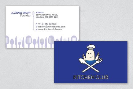 playful trading card template playful culinary services business card template inkd