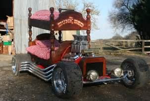 Cars Bunk Bed Bunkbed Snake Pit Car That Can Be Driven From Top Bed Or Bottom Up For Auction Daily Mail