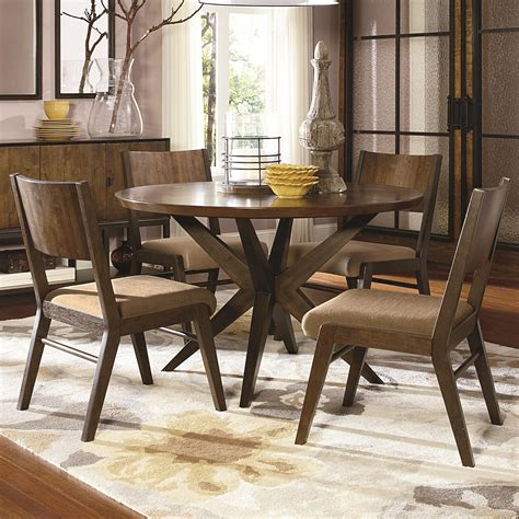 legacy classic dining room set legacy classic kateri 5 piece pedestal table and wood back