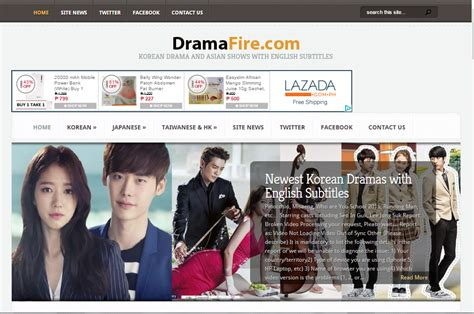 best site for top 10 best websites to korean dramas for free