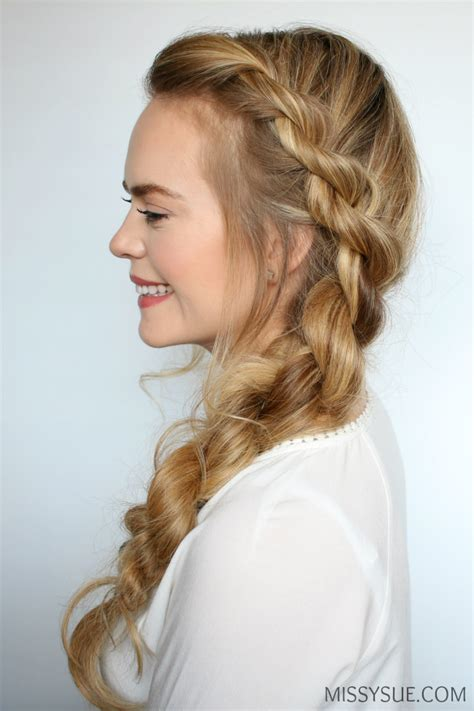 rope braid hairstyles for long hair 3 easy twisted hairstyles missy sue