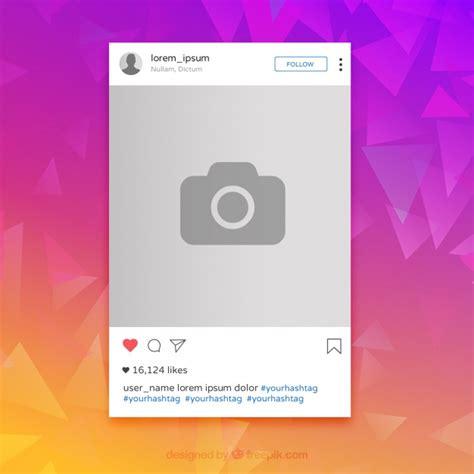 layout en instagram quadro colorido instagram baixar vetores gr 225 tis