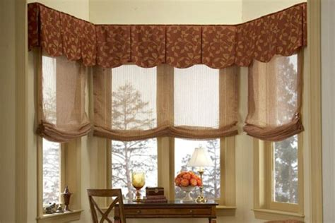 box bay window treatments 1000 images about box valance for bay windows on