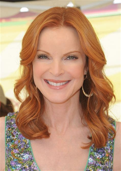 red hair for over 50 marcia cross vibrant red haute hairstyles for women