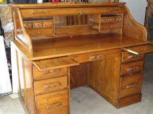 solid oak roll top desk saint paul private home home and furnitures items for sale deal
