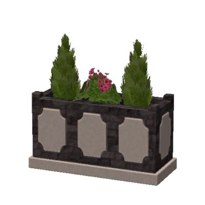 Sims 3 Planter Box by Planter Box In Black And Grey By Vasalyss The Exchange