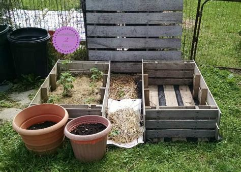 diy pallet garden bed diy raised garden beds with pallets