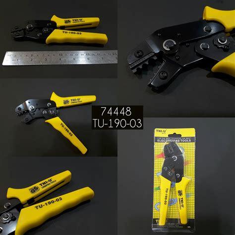 tang crimping tni u tu 301soriginal tool s tang crimping tni u tu 190 03 crimping pliers 74448