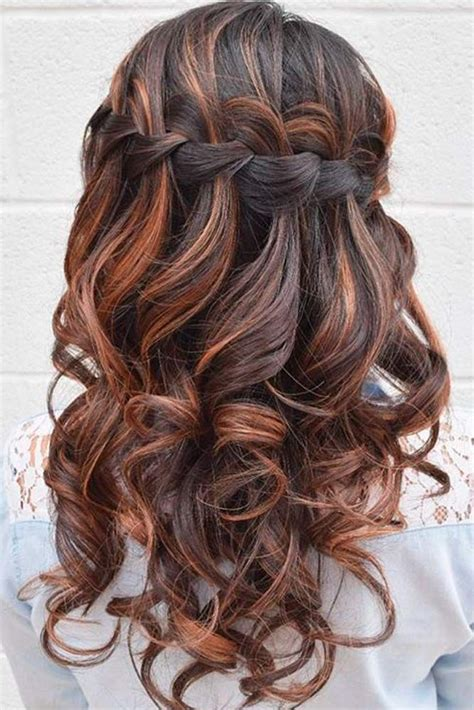 how to waterfall braid step by step learn how to do a waterfall braid hair style prom and