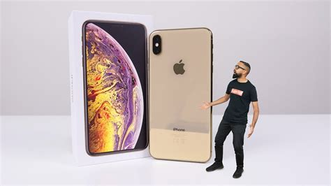 iphone xs max unboxing gold 512gb