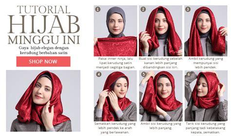 tutorial hijab modern untuk anak remaja foto tutorial hijab modern lebaran untuk remaja
