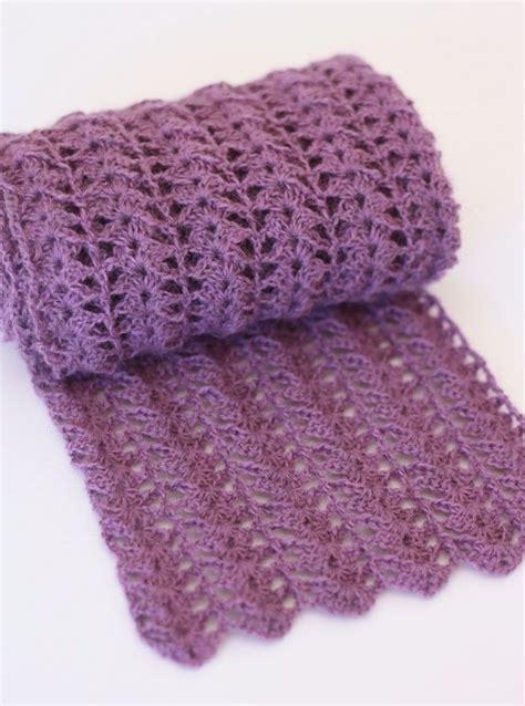 should i learn to knit or crochet best 20 crochet lace scarf ideas on crochet