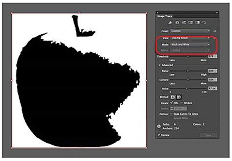 adobe illustrator cs6 remove background advanced tracing options gt working with image trace in