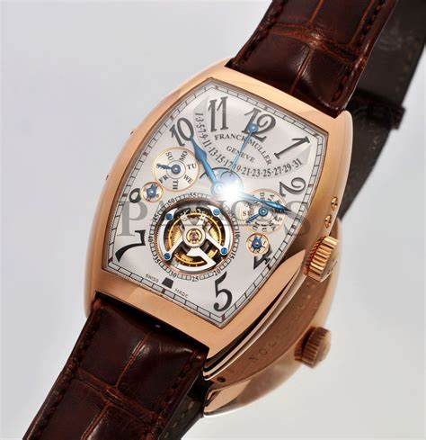 Frank Muller Orange Rosegold franck muller 2nd singapore