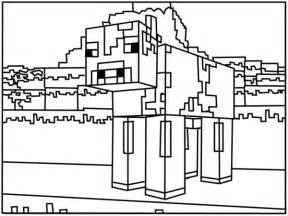 minecraft cow coloring page collections