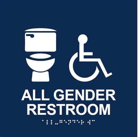 all gender bathroom sign all gender restroom signage office for equal opportunity