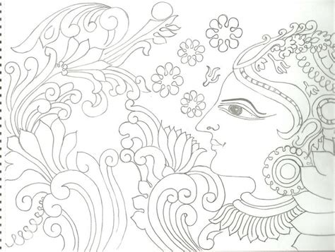 Mural Designs Outline by Varnavismayam Few More Drawings Indian Paintings Drawings And Images