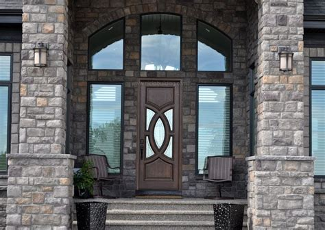 Luxury Front Door Luxury Home Entrance Brick Home Entrance Brown Wood Door Mahogany Door With Glass Bought At