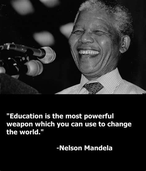 Mandela Quote nelson mandela on education quotes quotesgram