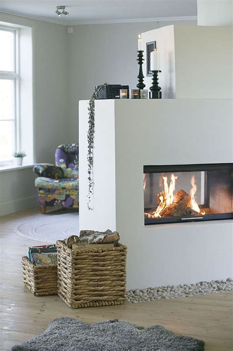 Two Sided by Best 25 Sided Fireplace Ideas On