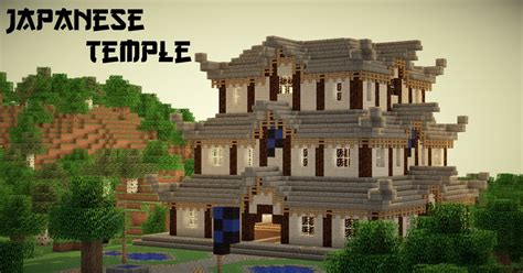 Japanese Temple   High Detail! Minecraft Project