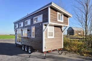 houses on wheels tiny house on wheels w big kitchen and double sink vanity