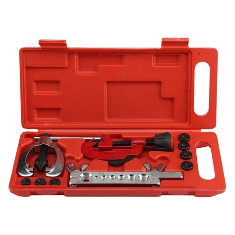 Cl Alat Penjepit Besi Kayu Pipe Flanging Reamer Ct 2029 copper brake fuel pipe repair flaring dies tool set cl kit t1i8