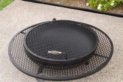 grill grate for pit pit