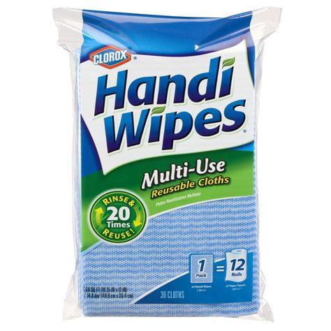 clorox handi wipes multi  reusable cloths  count  ebay