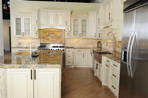 White Vintage Kitchen Cabinets | chicago rta vintage white kitchen cabinets chicago ready