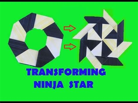 How To Make A Transforming Out Of Paper - how to make a transforming origami
