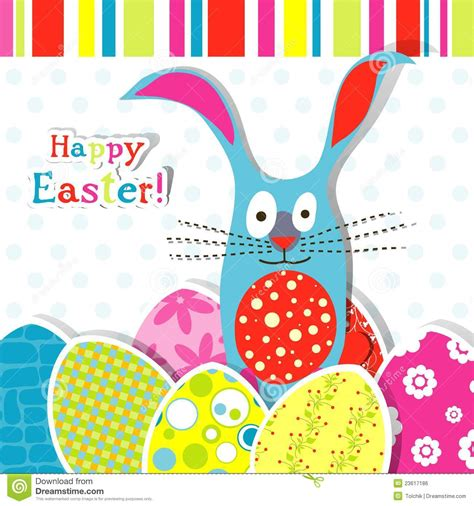 Easter Photo Card Templates Free by Template Easter Greeting Card Royalty Free Stock Image