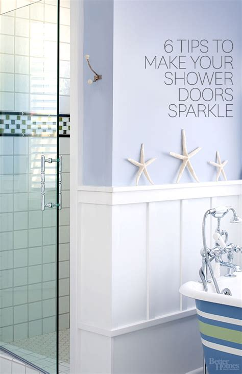 How To Clean Bathroom Shower How To Clean Shower Doors
