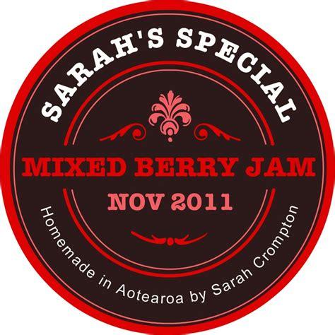 design your own jam label 15 best jam labels images on pinterest jam label