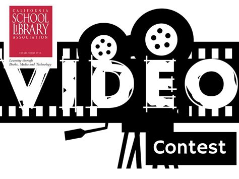 csla video contest csla california school library association - Video Sweepstakes