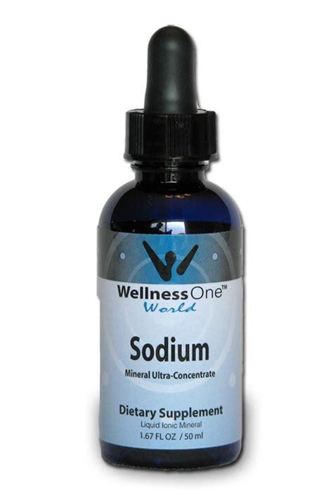 Suplemen Yodium Liquid Sodium Mineral Dietary Supplement