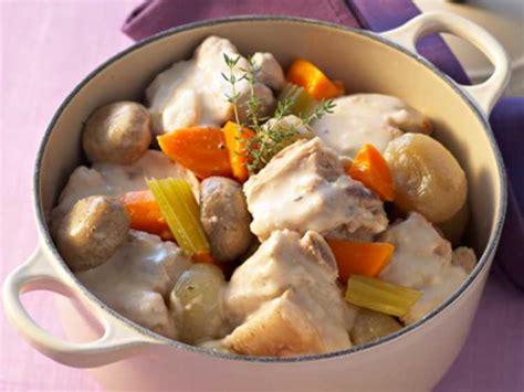recettes cuisine fran軋ise traditionnelle blanquette de veau 224 l ancienne pas cher recette sur