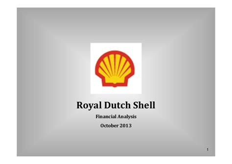 Topic 8 The Business And Financial Performance Of An Royal Shell Ppt